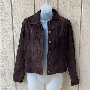 Mossimo Suede Leather Jacket